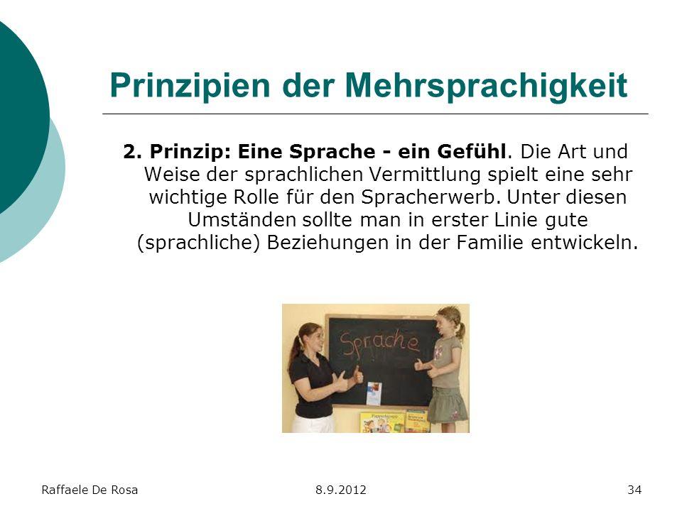 Prinzipien der Mehrsprachigkeit