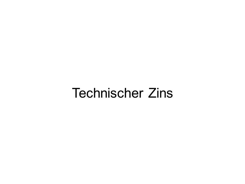 Technischer Zins