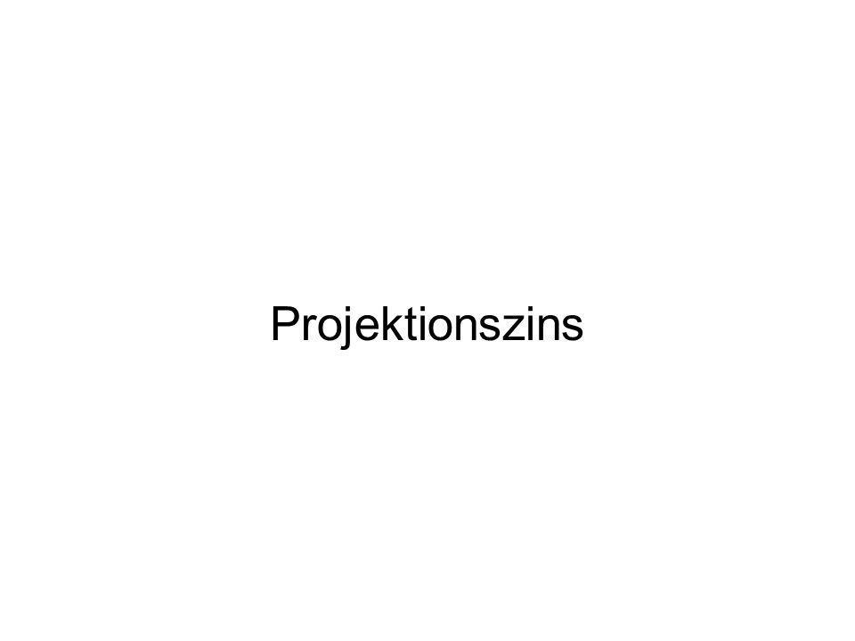 Projektionszins