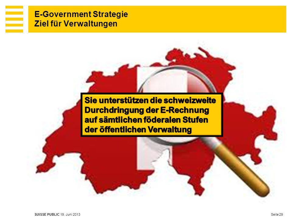 E-Government Strategie Ziel für Verwaltungen
