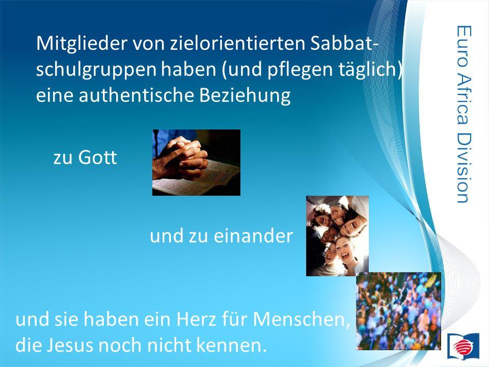 Mitglieder von zielorientierten Sabbat-