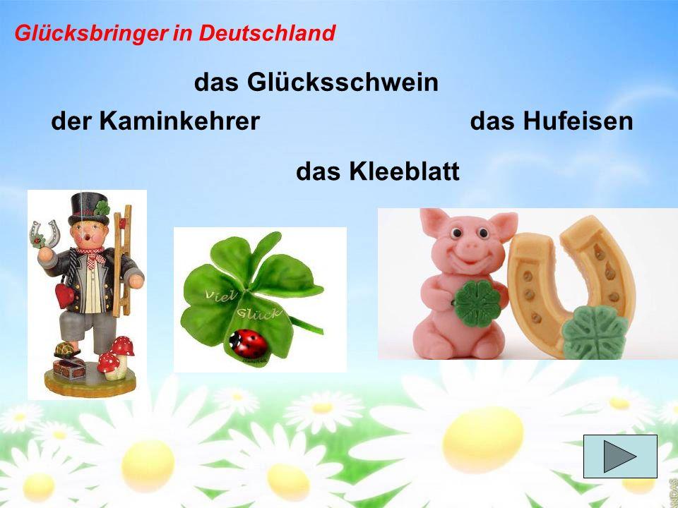 Glücksbringer in Deutschland
