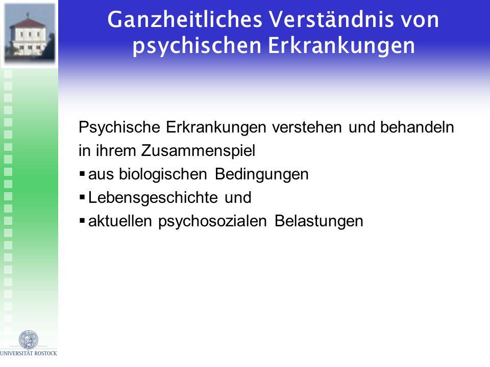 Ganzheitliches Verständnis von psychischen Erkrankungen