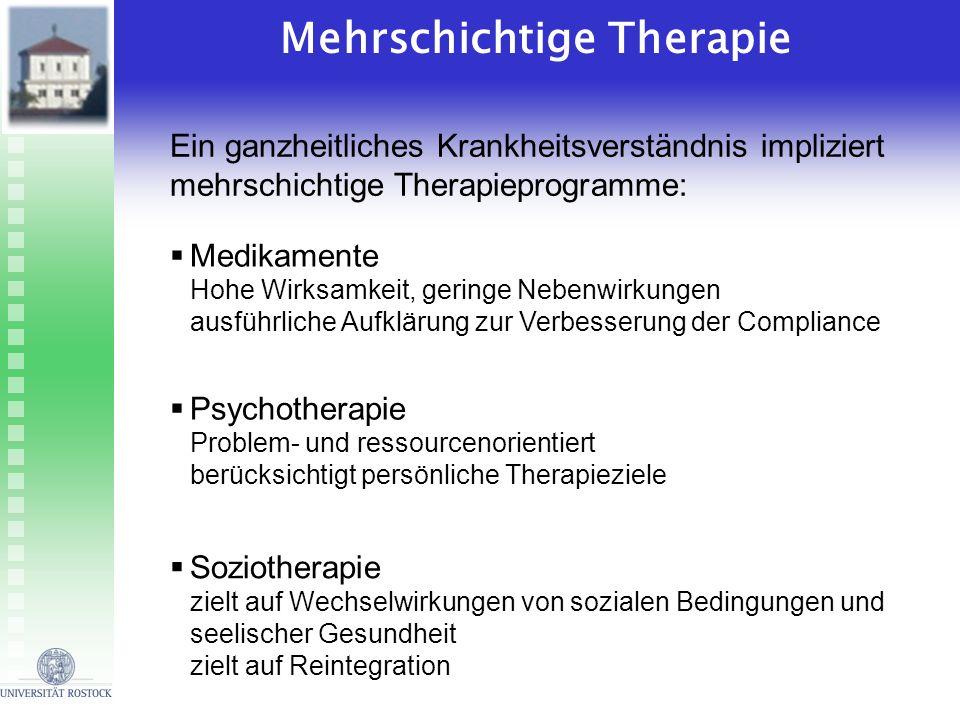 Mehrschichtige Therapie