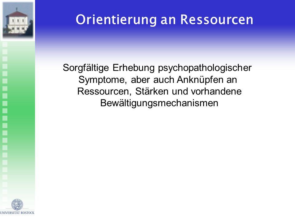 Orientierung an Ressourcen