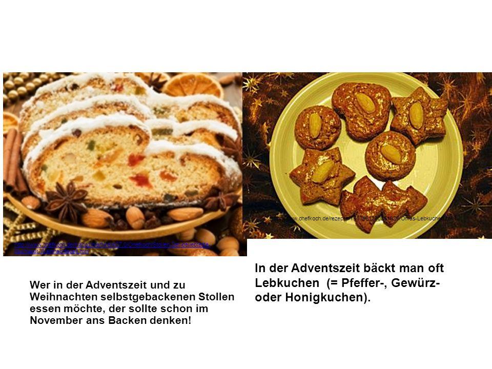 Wer in der Adventszeit und zu Weihnachten selbstgebackenen Stollen essen möchte, der sollte schon im November ans Backen denken!