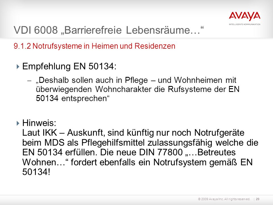 """VDI 6008 """"Barrierefreie Lebensräume…"""