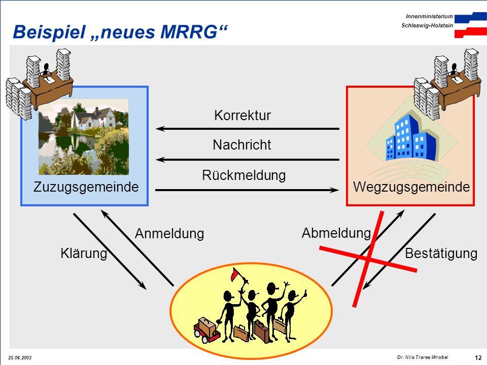 """Beispiel """"neues MRRG Korrektur Nachricht Rückmeldung Zuzugsgemeinde"""