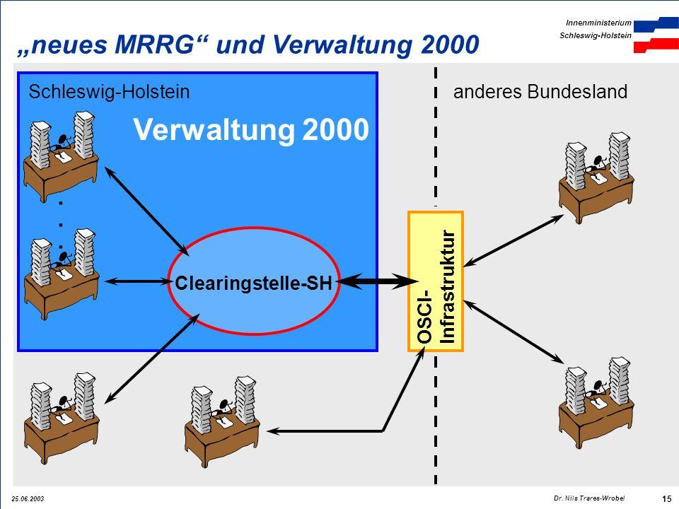 """Verwaltung 2000 """"neues MRRG und Verwaltung 2000 . . ."""