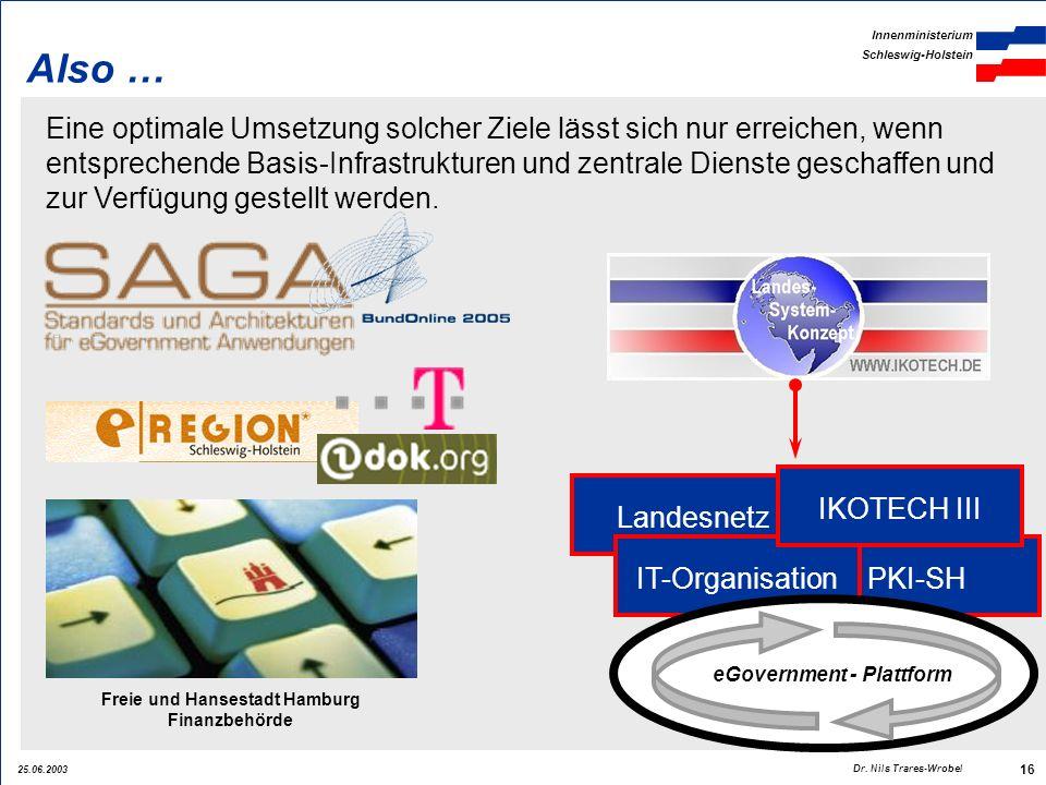 eGovernment - Plattform Freie und Hansestadt Hamburg Finanzbehörde