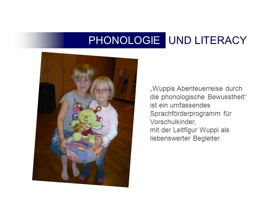 """""""Wuppis Abenteuerreise durch die phonologische Bewusstheit ist ein umfassendes Sprachförderprogramm für Vorschulkinder,"""