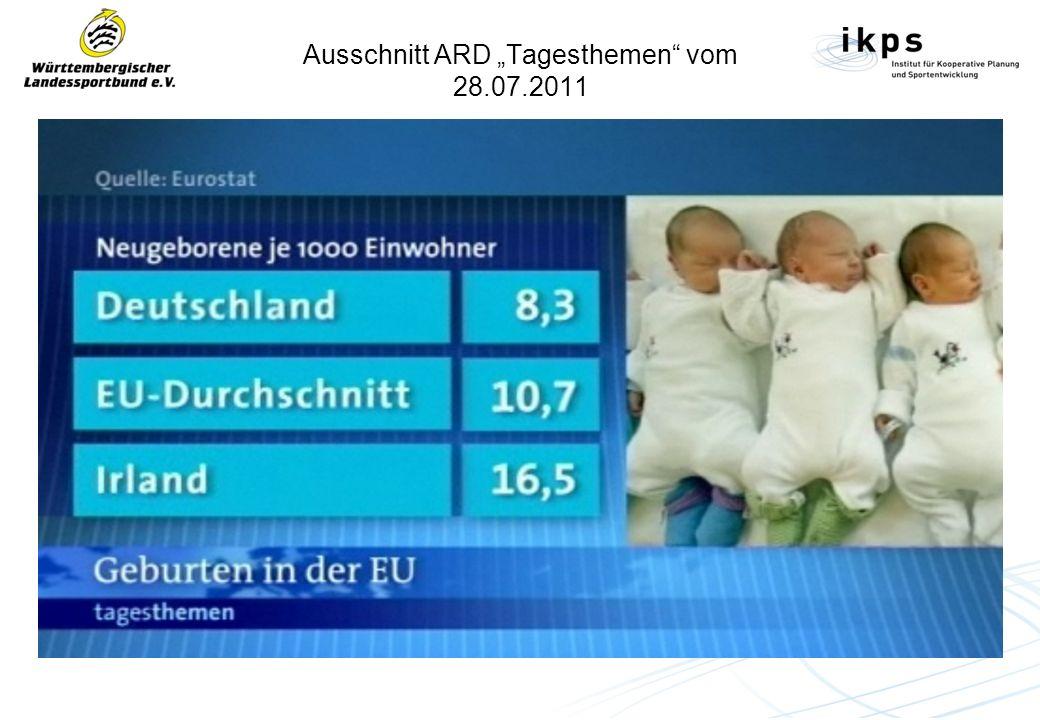 """Ausschnitt ARD """"Tagesthemen vom 28.07.2011"""