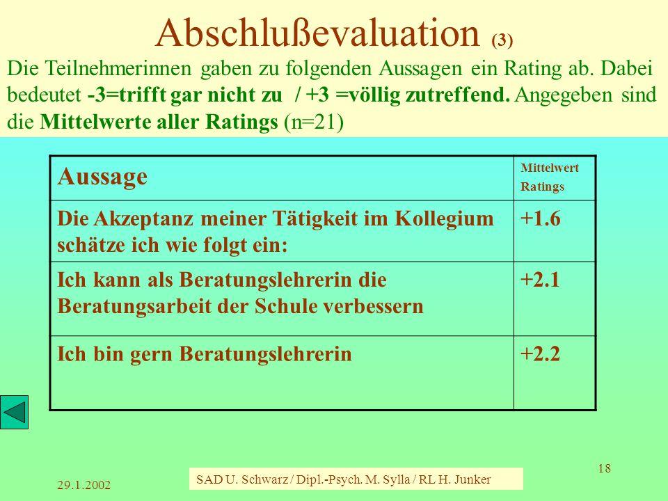 Abschlußevaluation (3)