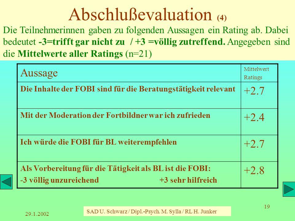 Abschlußevaluation (4)