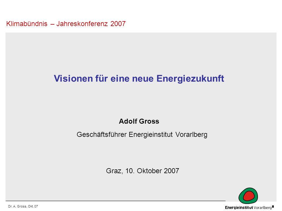 Visionen für eine neue Energiezukunft