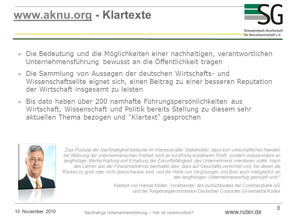 www.aknu.org - Klartexte