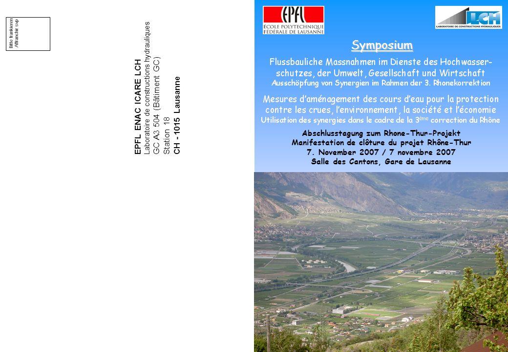 Symposium EPFL ENAC ICARE LCH GC A3 504 (Bâtiment GC)