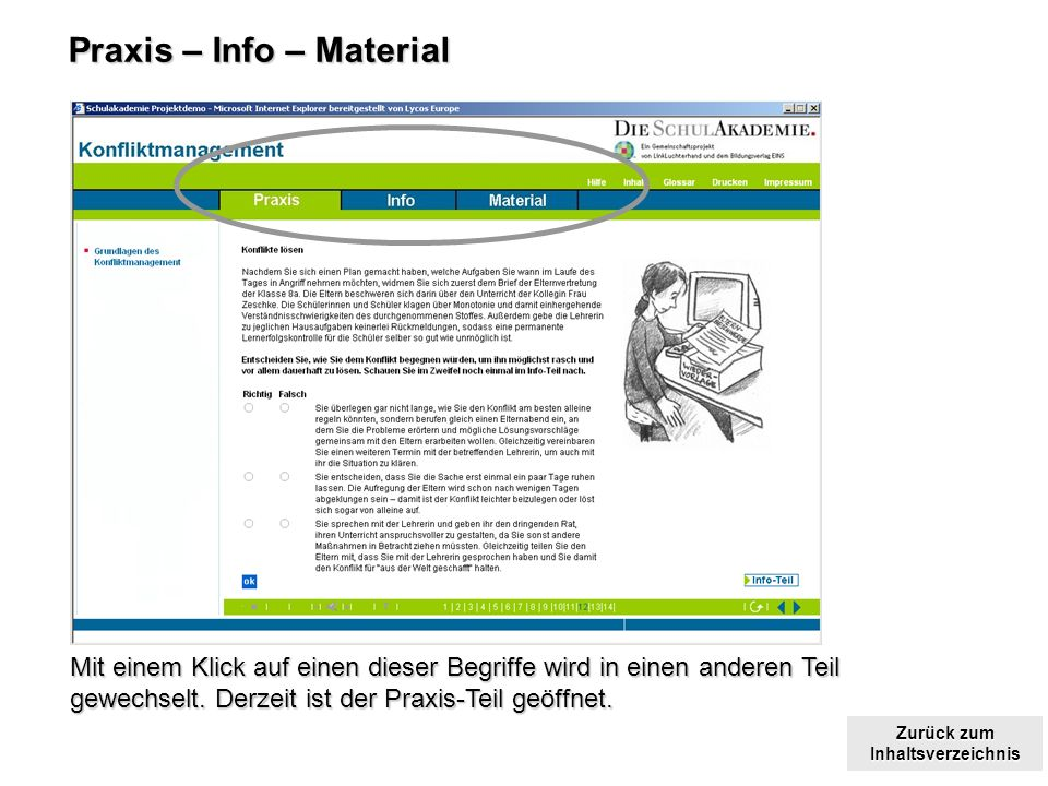 Praxis – Info – Material