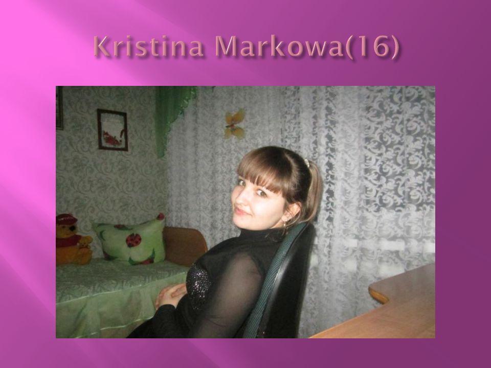 Kristina Markowa(16)