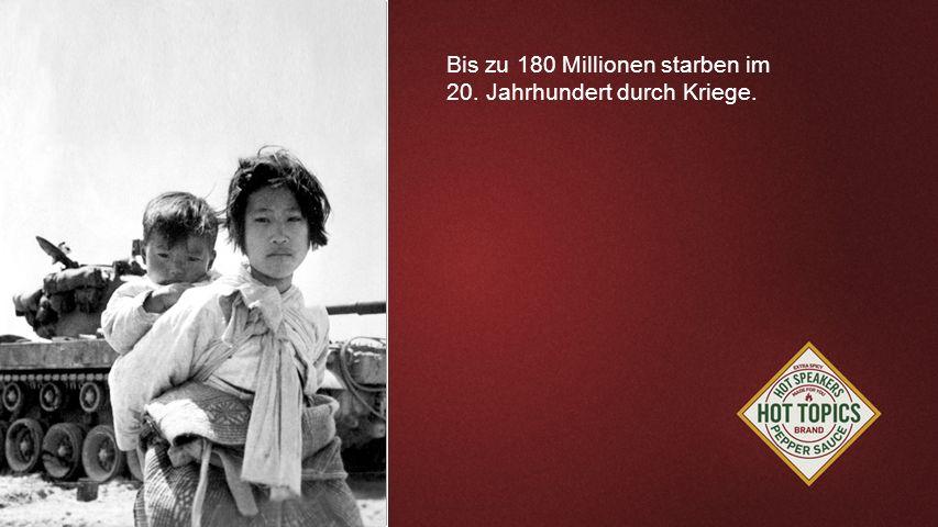 FOTOBACKGROUND Bis zu 180 Millionen starben im