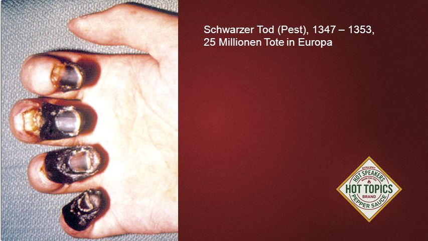 FOTOBACKGROUND Schwarzer Tod (Pest), 1347 – 1353,