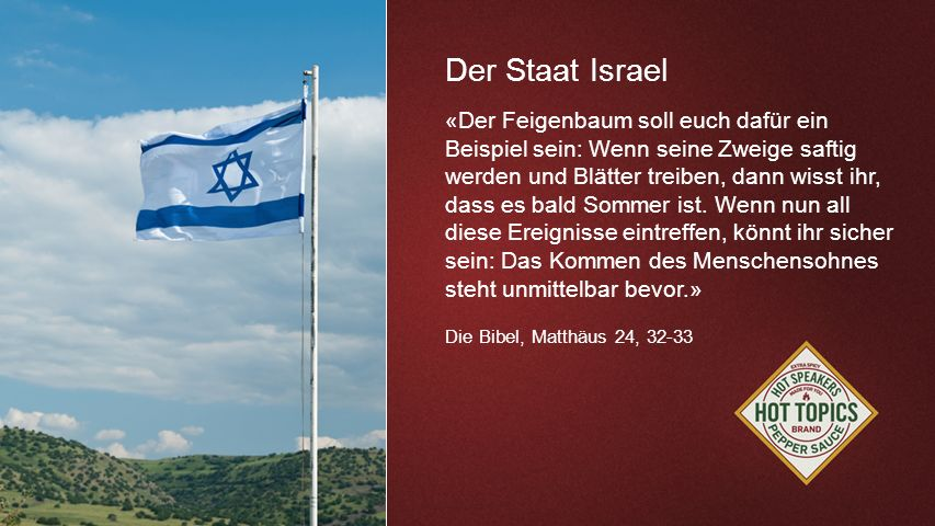 Der Staat Israel FOTOBACKGROUND
