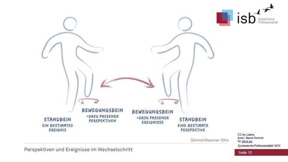 CC-by-Lizenz, Autor: Bernd Schmid für isb-w.eu Systemische Professionalität 2013