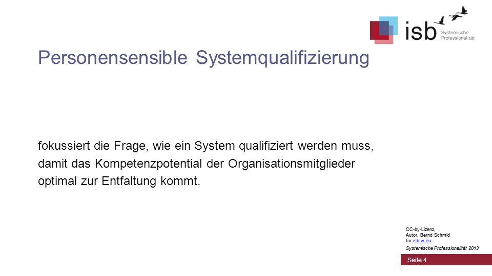 Personensensible Systemqualifizierung