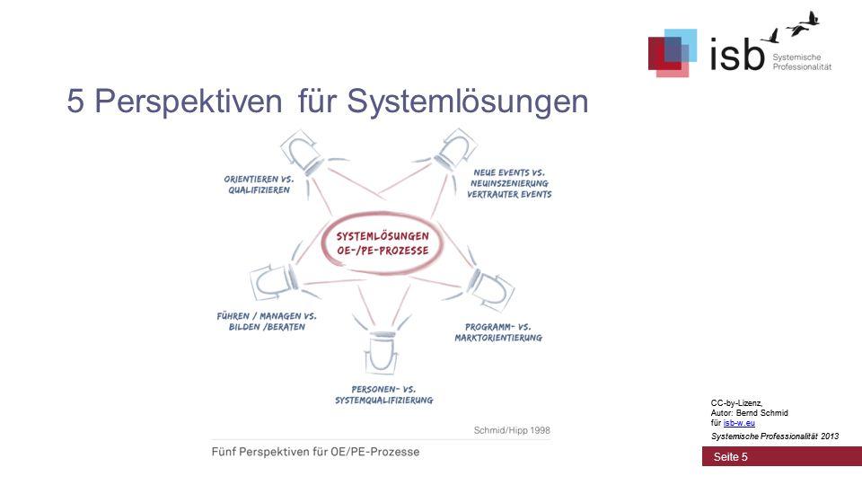 5 Perspektiven für Systemlösungen