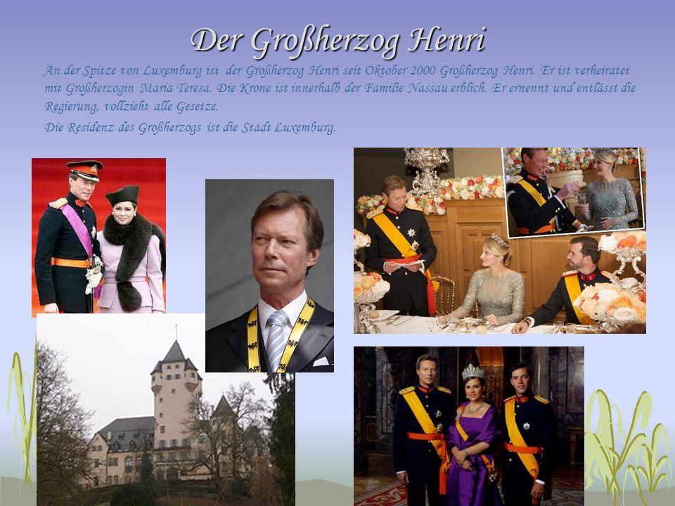 Der Großherzog Henri