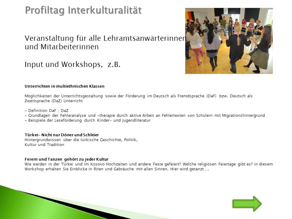 Profiltag Interkulturalität