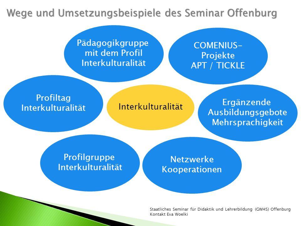 Wege und Umsetzungsbeispiele des Seminar Offenburg