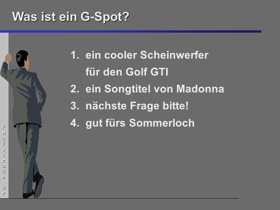 Was ist ein G-Spot ein cooler Scheinwerfer für den Golf GTI