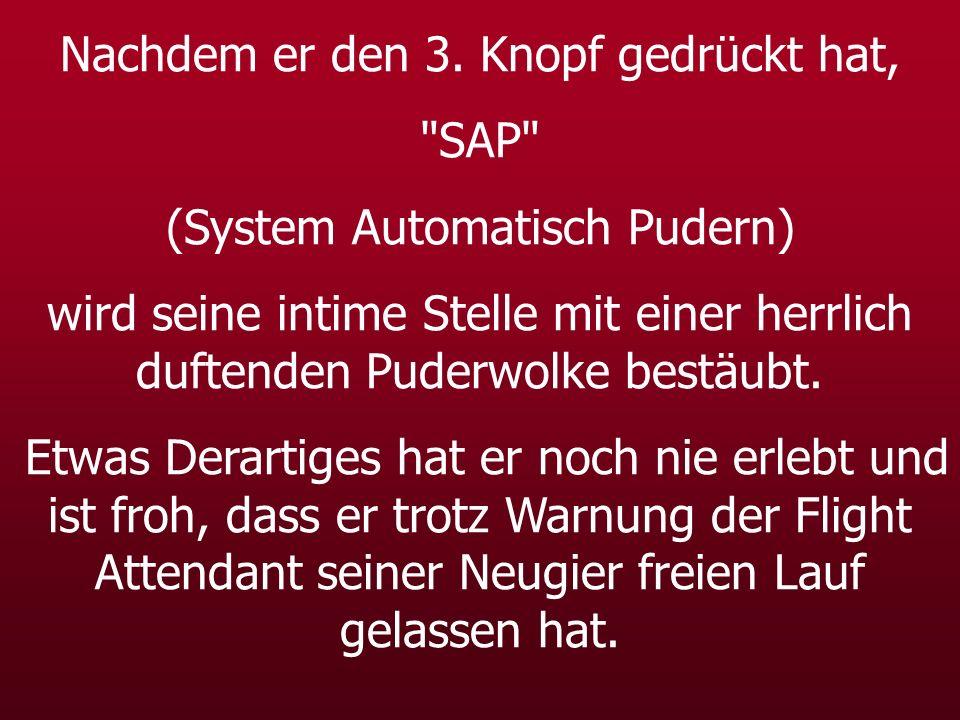 Nachdem er den 3. Knopf gedrückt hat, SAP