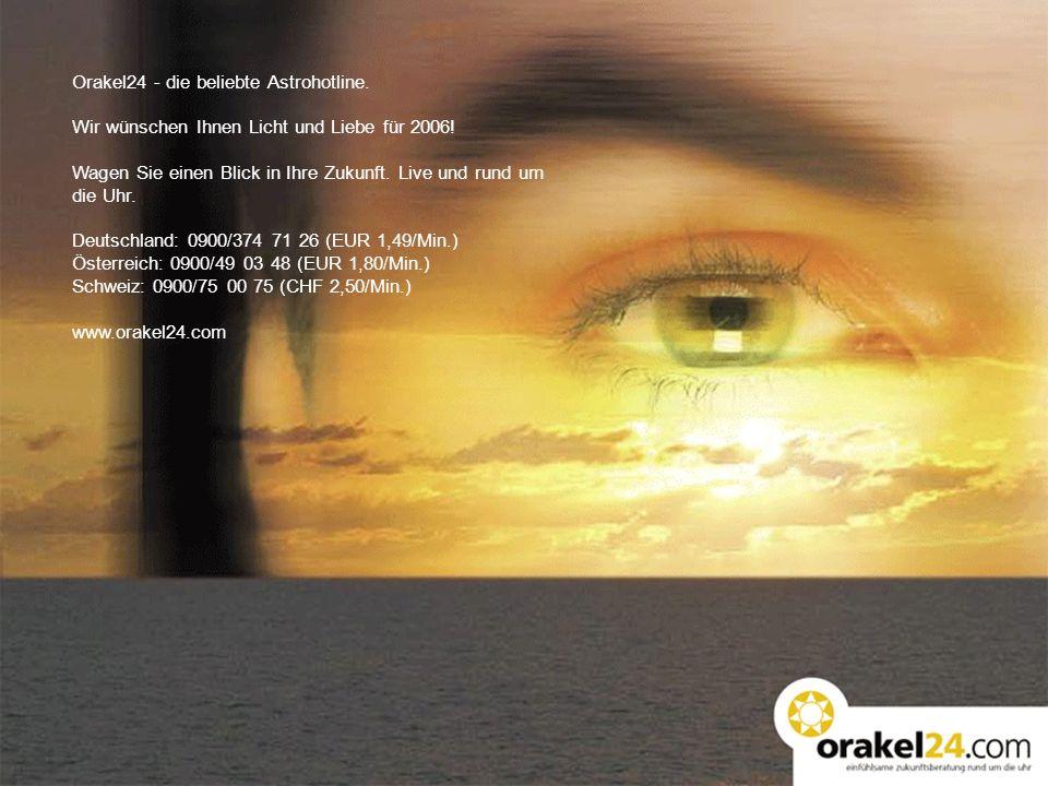Orakel24 - die beliebte Astrohotline.
