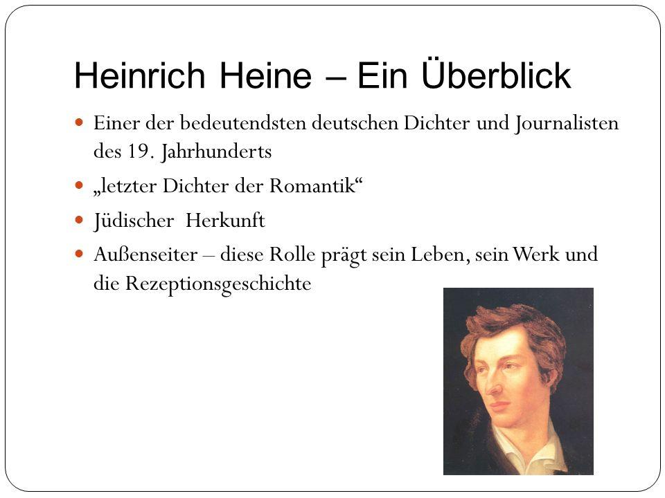 Heinrich Heine – Ein Überblick
