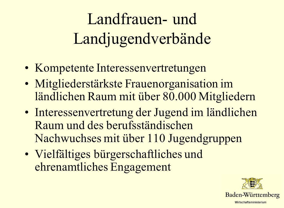 Landfrauen- und Landjugendverbände