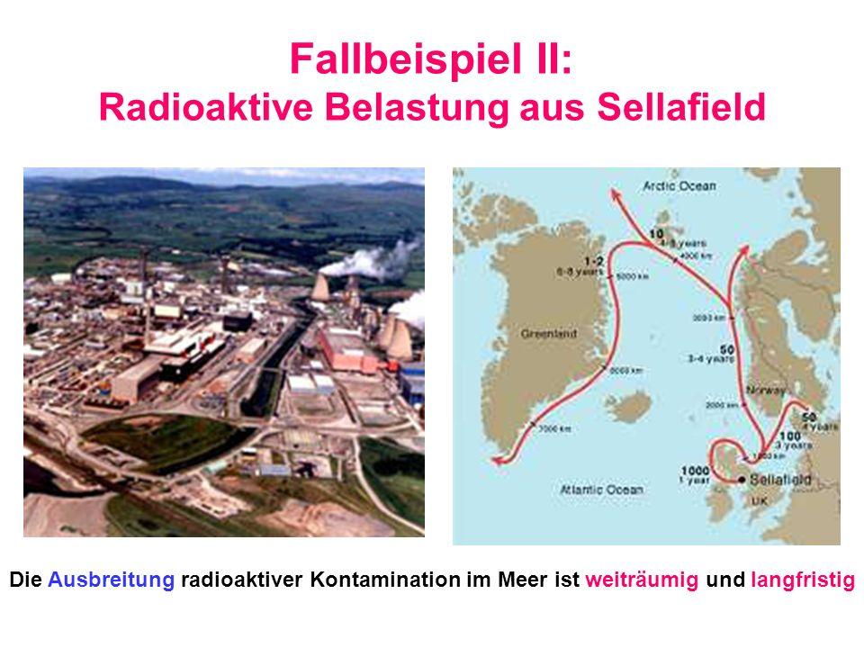 Fallbeispiel II: Radioaktive Belastung aus Sellafield