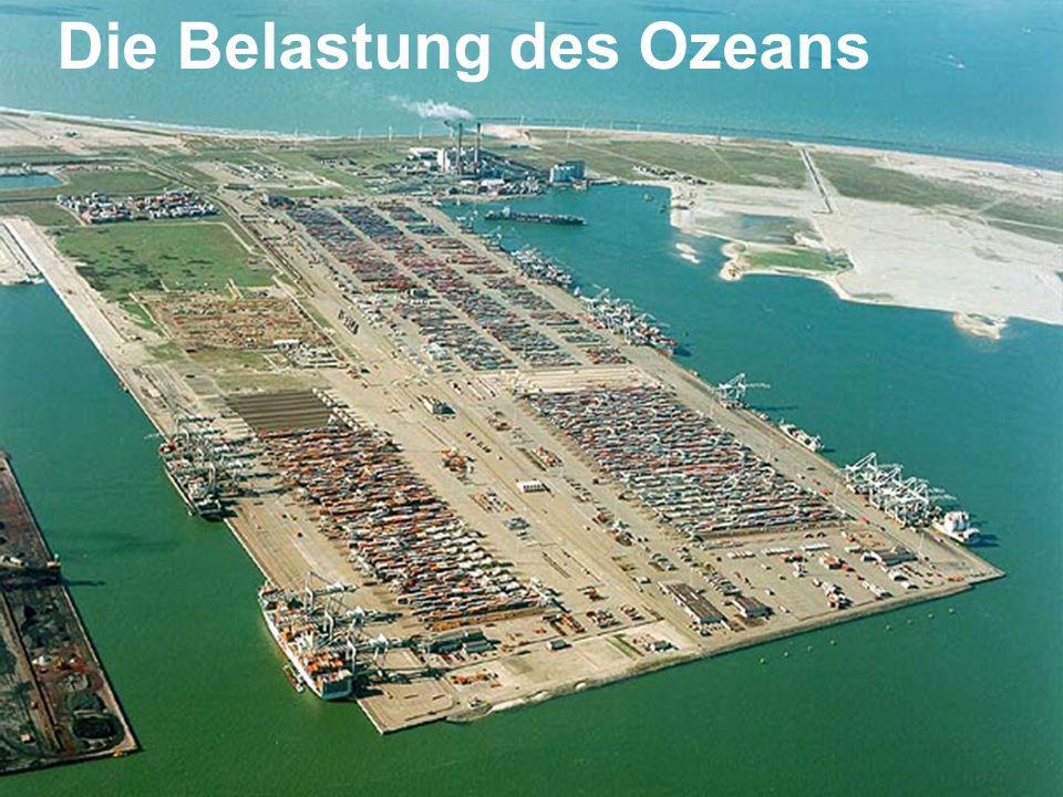 Die Belastung des Ozeans