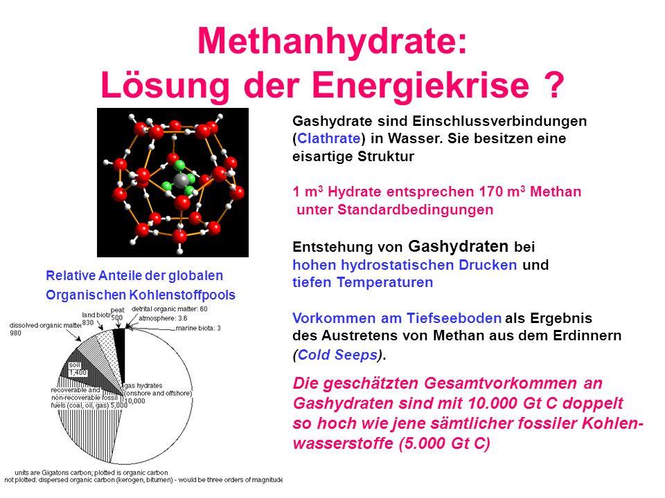 Methanhydrate: Lösung der Energiekrise