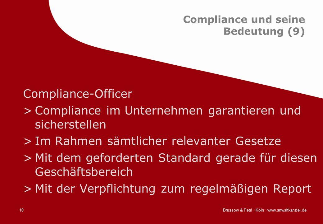 Compliance und seine Bedeutung (9)