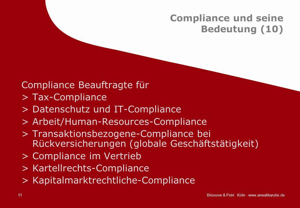 Compliance und seine Bedeutung (10)