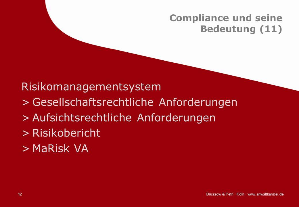 Compliance und seine Bedeutung (11)