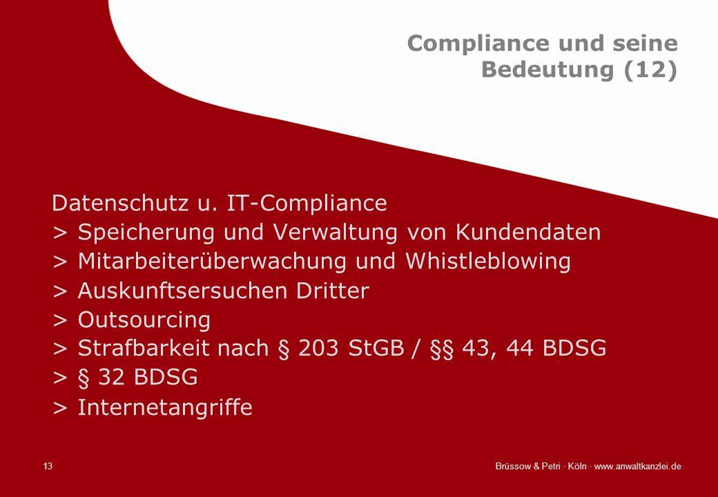 Compliance und seine Bedeutung (12)