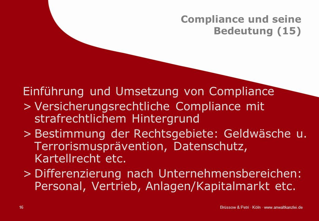 Compliance und seine Bedeutung (15)