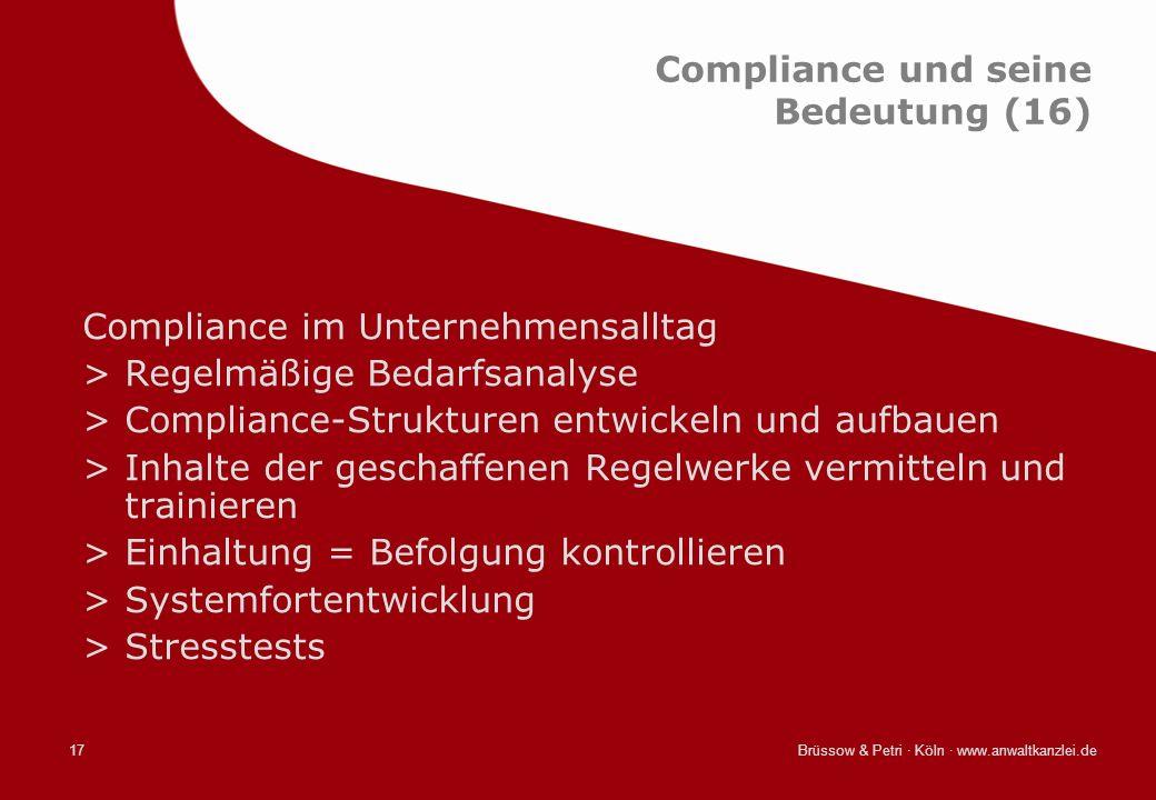 Compliance und seine Bedeutung (16)