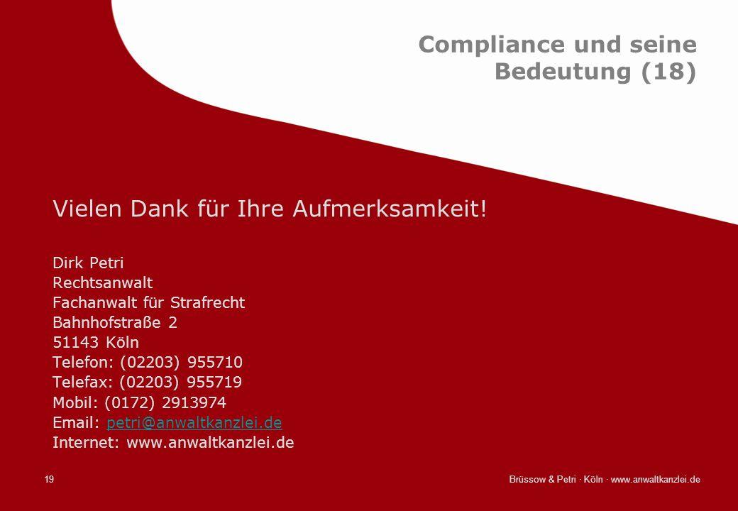 Compliance und seine Bedeutung (18)
