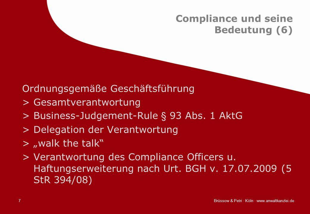 Compliance und seine Bedeutung (6)