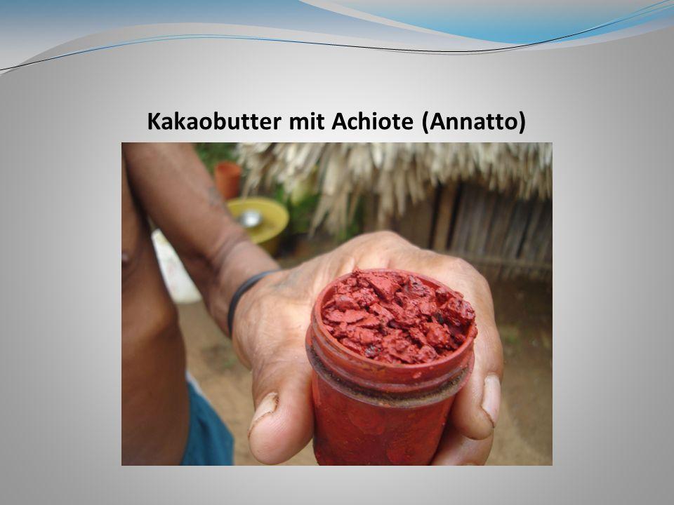 Kakaobutter mit Achiote (Annatto)