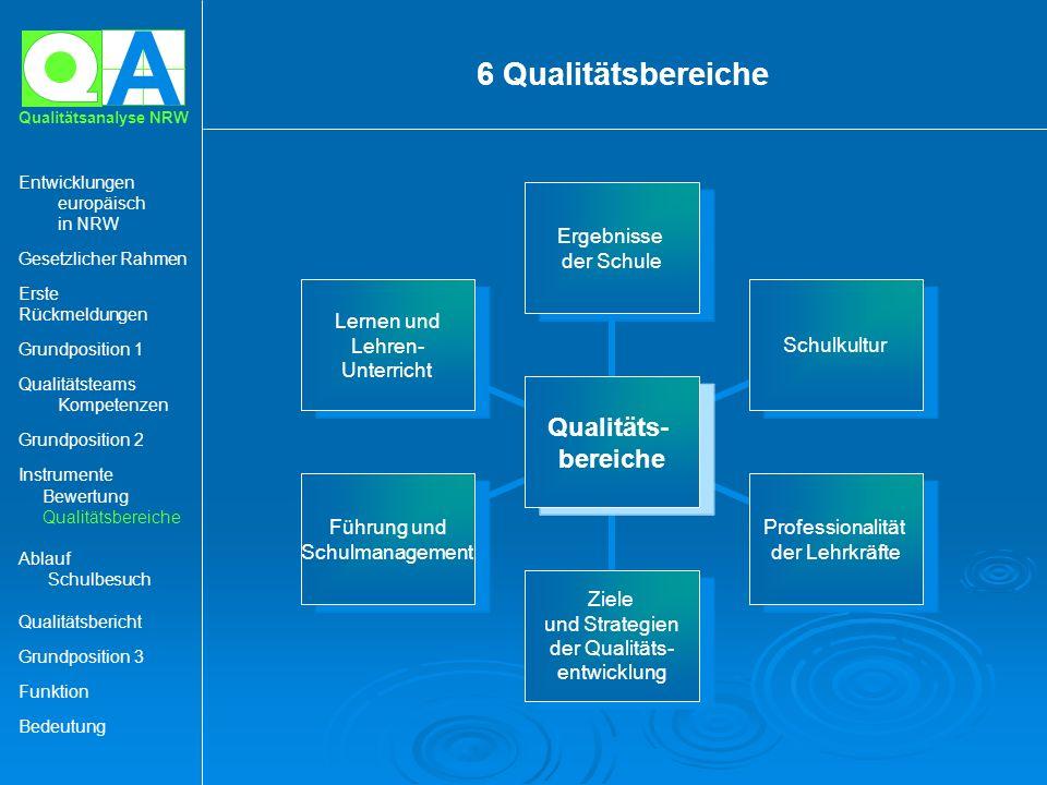 6 Qualitätsbereiche